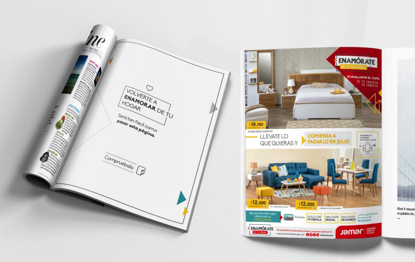 Piezas Publicitarias Barranquilla - Catálogo - Jamar - Enamórate de tu hogar